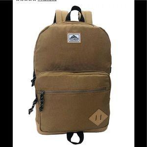 New Steve Madden Solid Sport Backpack Color Khaki